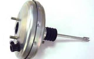 Признаки неисправности вакуумного усилителя тормозов ваз 2114