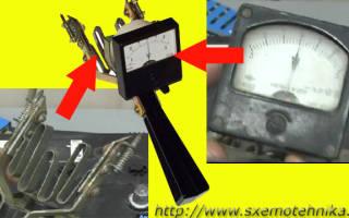 Напряжение аккумулятора под нагрузочной вилкой