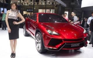 Кроссовер Lamborghini Urus 2018 года