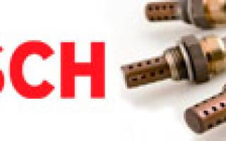 Кислородные датчики bosch каталог