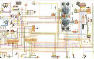 Схема предохранителей газ 2705