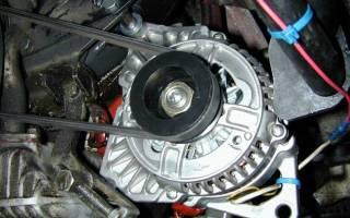 Схема работы автомобильного генератора