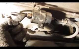 Топливный фильтр нива 21214 инжектор где находится