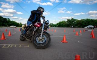 Мотоцикл какая категория прав