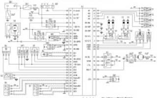 Электросхема уаз 220695 04