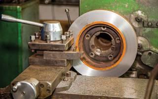 Самодельный станок для проточки тормозных дисков