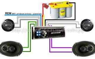 Подключение желтого провода магнитолы