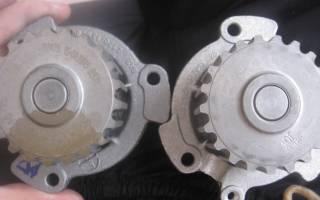 Признаки плохой работы помпы двигателя
