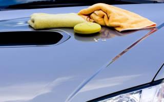 Чем удалить краску с машины