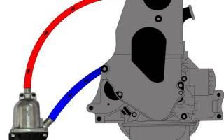 Схема подключения подогрева двигателя 220в