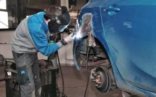 Сварка для ремонта кузова автомобиля