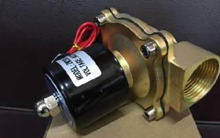 Электроклапан для газа 12в