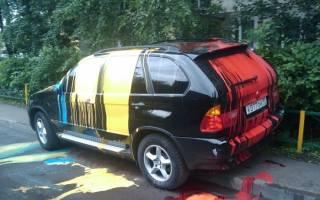 Чем оттереть краску с кузова автомобиля