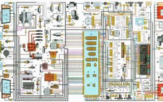 Схема электрики ваз 21099 карбюратор