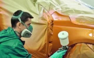 Покраска авто пятном с переходом