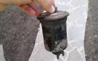 Причины забитого топливного фильтра