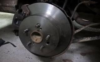Фото износа тормозных дисков
