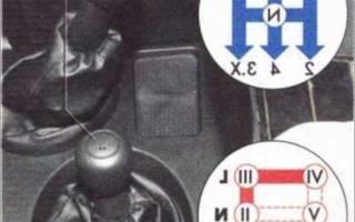 Механизм выбора передач шевроле нива