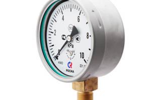 Рабочее давление в топливной системе