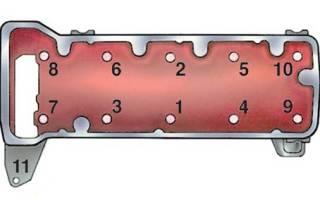Момент затяжки гбц ваз 2114 инжектор 8