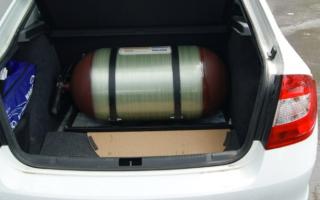 Опрессовка газового баллона автомобиля