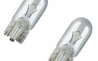 Светодиодные лампы вместо габаритов